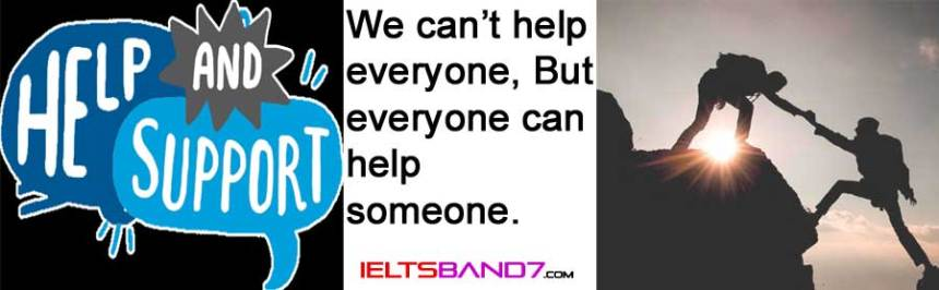 Speaking Part 2 (Cue card): when you wanted to help someone Best IELTS Band 7 Coaching in Dehradun