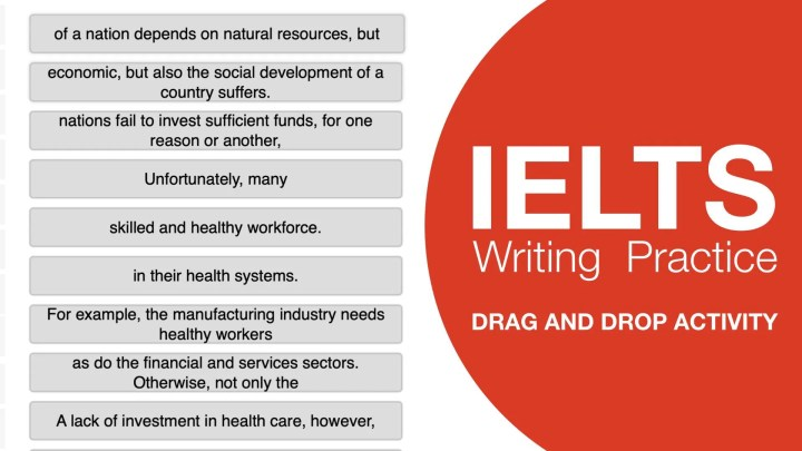 IELTS Writing Coherence and Cohesion Practice