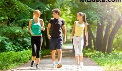 Health experts believe that walking is a good exercise for health. However, people are walking less nowadays. Why is this happening? How can people be encouraged to walk more?