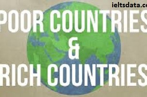 Rich countries often give financial aid to poor countries, but it does not solve the poverty, so rich countries should give other types of help to the poor countries rather than the financial aid. To what extent do you agree or disagree?