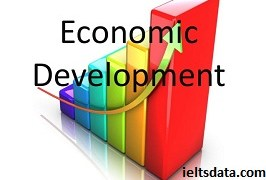 Some people say that economic development is necessary to reduce the poverty in the world. Others say that economic growth should be stopped immediately to stop damaging the environment. Discuss both sides and give your opinion.