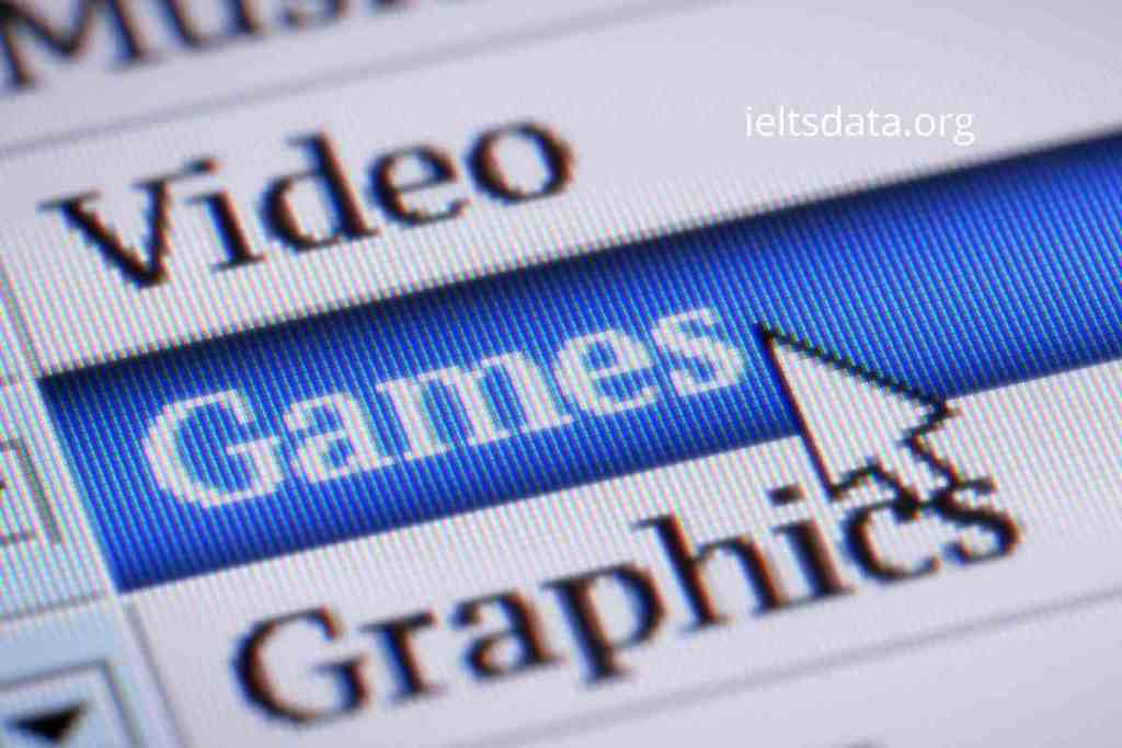 Today Many Children Spend a Lot of Time Playing Computer Games