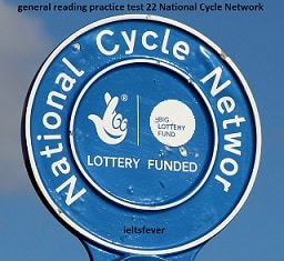 general reading practice test 22 National Cycle Network , ROADS-THE FACTS , St. Trinian's Collage , TRANSFER TO ANOTHER INSTITUTION , THE PANDA'S LAST CHANCE