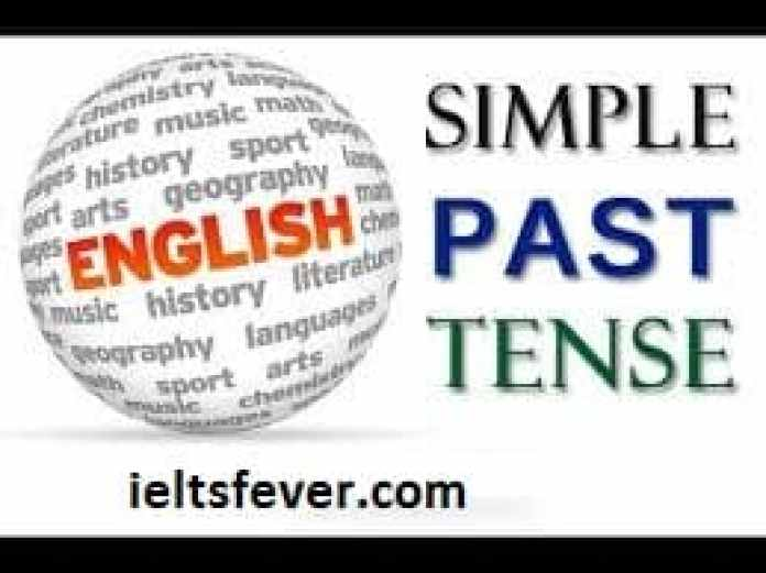 Simple Past Tenses English Grammar ielts exam