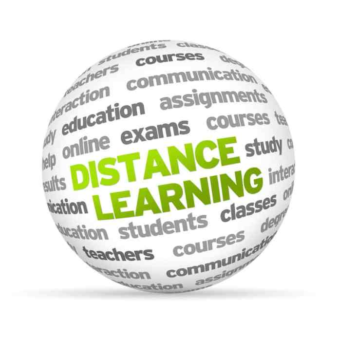 Many people use distance-learning programs to study at home ielts exam