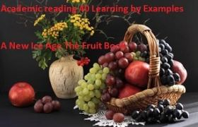 Academic reading practice test 40 Learning by Examples A New Ice Age The Fruit Book