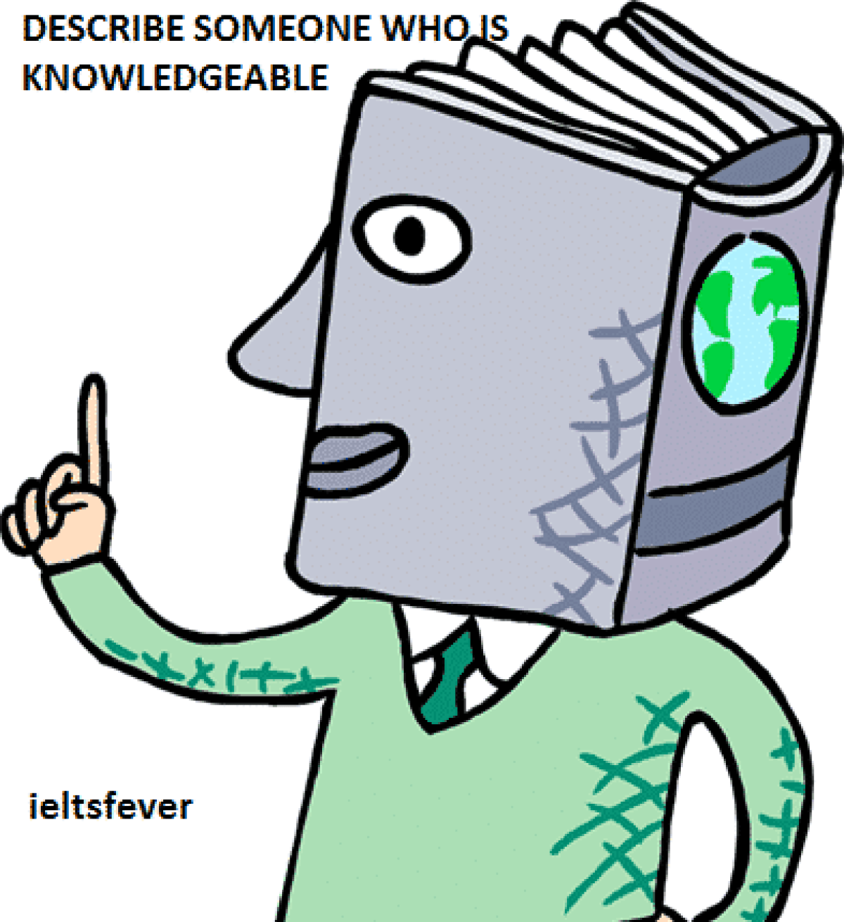 DESCRIBE SOMEONE WHO IS KNOWLEDGEABLE IELTS EXAM