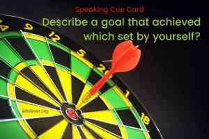 Describe a goal that achieved which set by yourself?