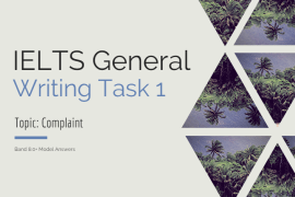 ieltsgeneral.com-IELTS General Writing Task 1 Topic Complaint and Band 7.0+ Model Answers