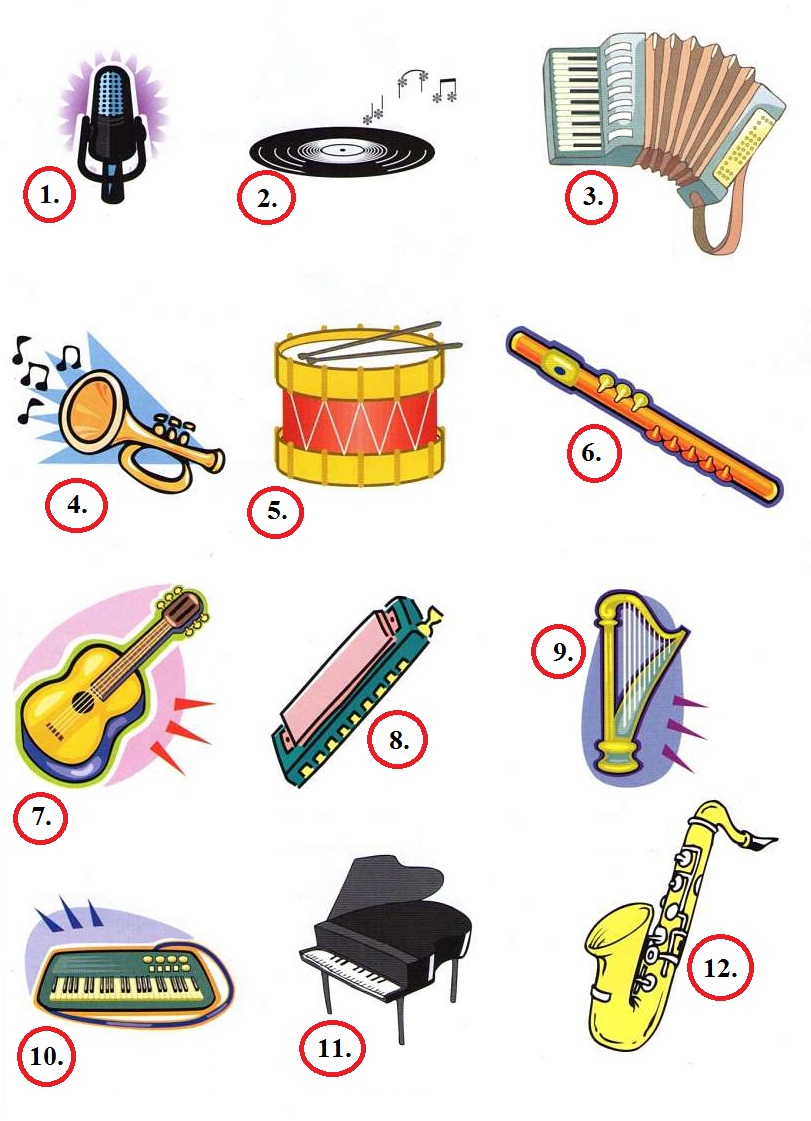 Ielts Vocabulary Music Amp Instruments First English Ielts