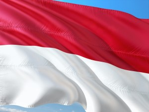 international, flag, indonesia