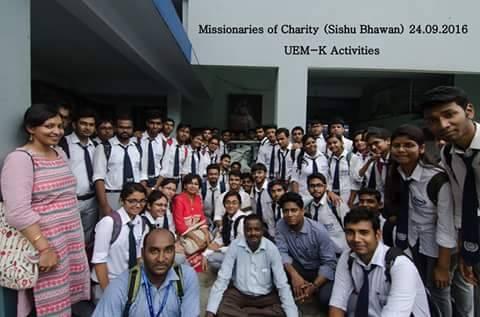 Orphanage Visit - IEM Jaipur