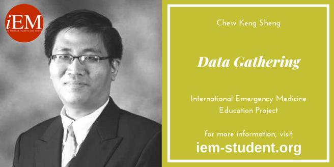 gathering data - Chew Keng Sheng
