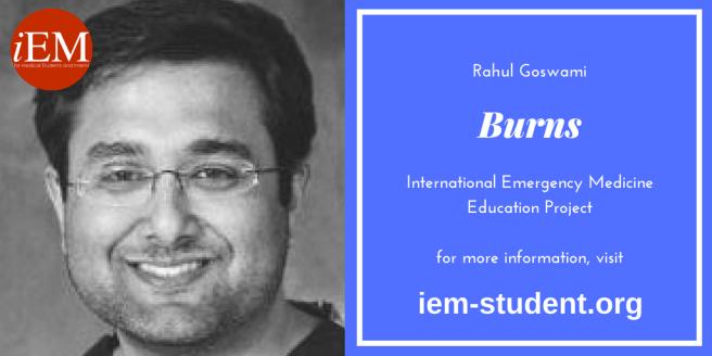 rahul goswami - burns