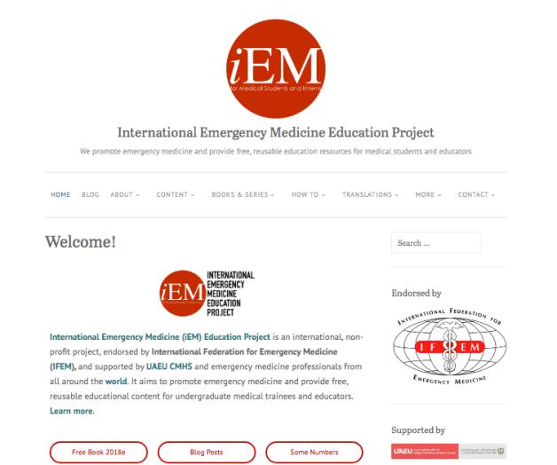 iem webpage