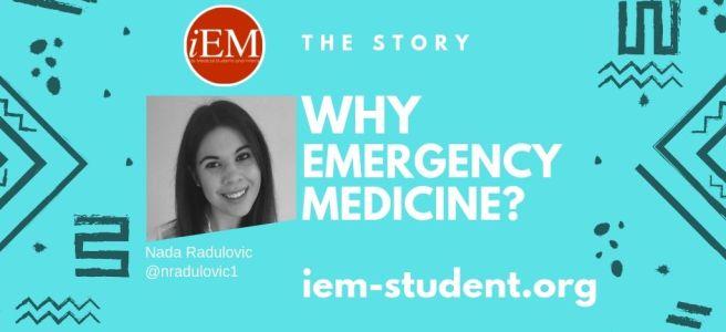 why emergency medicine - nada radulovic - canada