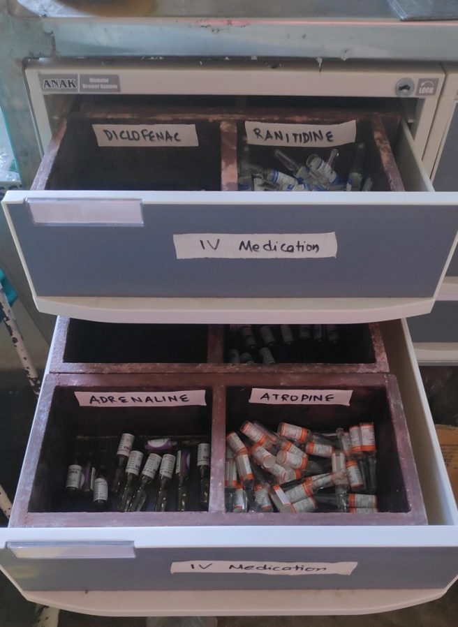 Labelled medications