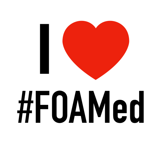 I love #FOAMED