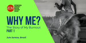 why me - the story of my burnout