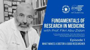 Fundamentals of Research in Medicine - Episode 1