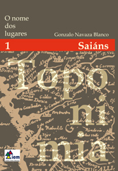 """Presentación da colección """"O nome dos lugares"""" en Saiáns."""