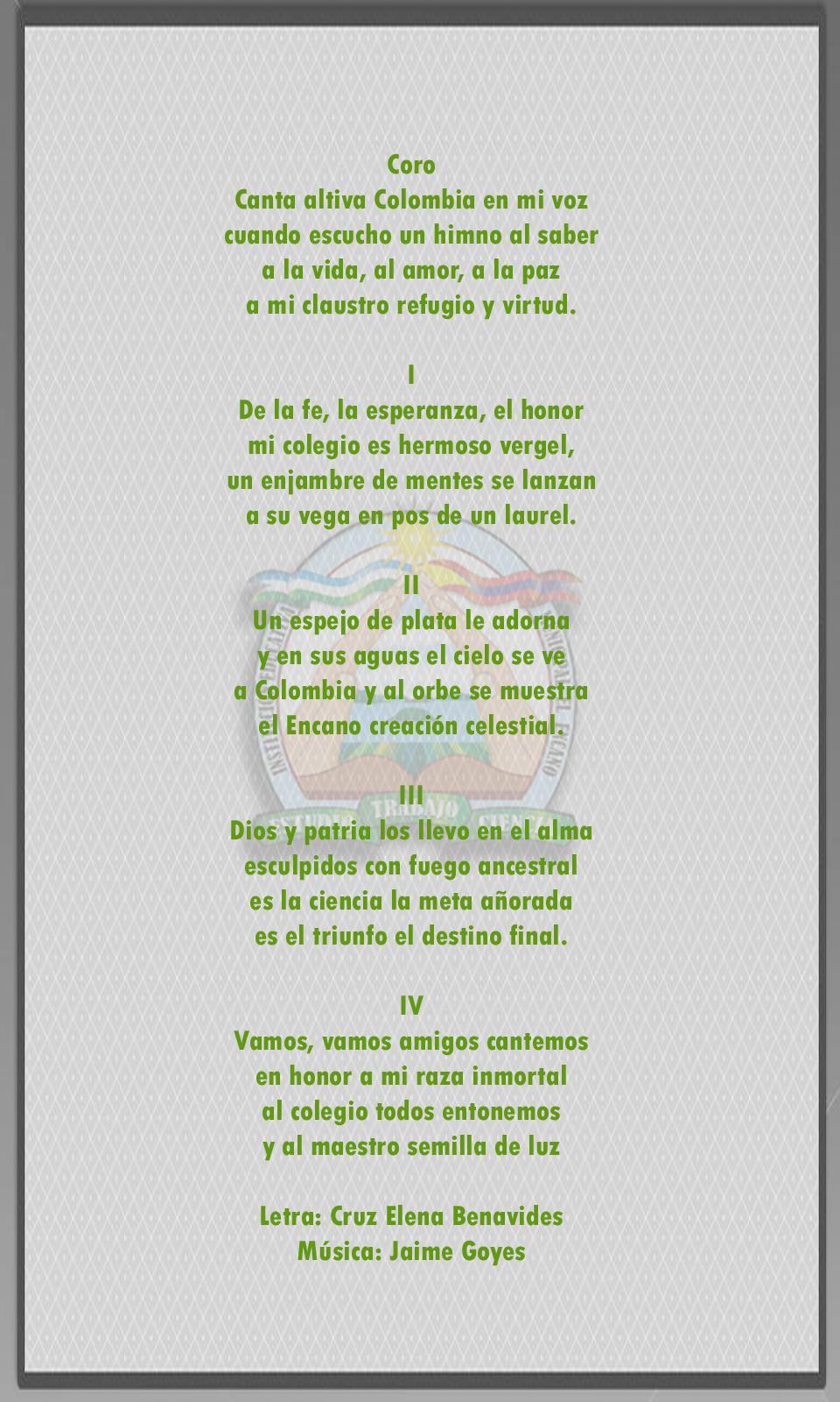 El Himno y el Escudo  iemencano