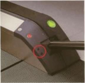 อุปกรณ์ตรวจจับผู้โดยสารของบันไดเลื่อนที่ทำงานแบบอัตโนมัติ