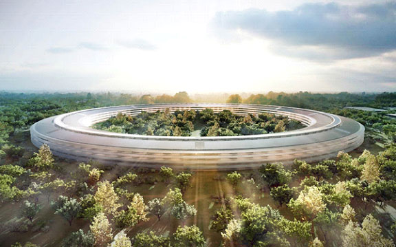 apple-park-อาคารสำนักงาน