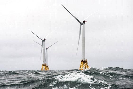 """มุ่งสู่ใจกลางทะเล """"จุดหมายใหม่ขุมพลังงาน...วายุสลาตัน"""" สู่เทคโนโลยีกังหันลมลอยน้ำ"""