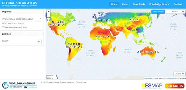 ฟรี ! เครื่องมือคำนวณประสิทธิภาพพลังงานแสงอาทิตย์ทุกพื้นที่บนโลก (Global Solar Atlas)