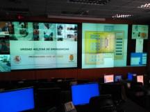Sala de Conducción de la UME