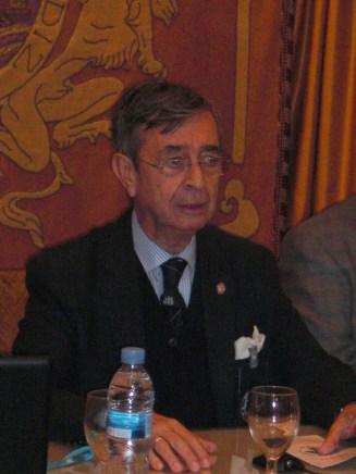 D. Francisco Súnico Varela, miembro numerario del IERD.