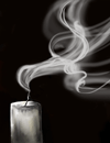 Candle, illustration rom Below