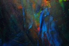 Abstract, oils (detail)