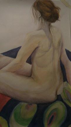 Life drawing -pastels