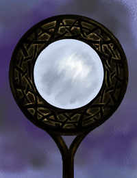 Summerland Mirror, illustration from Below