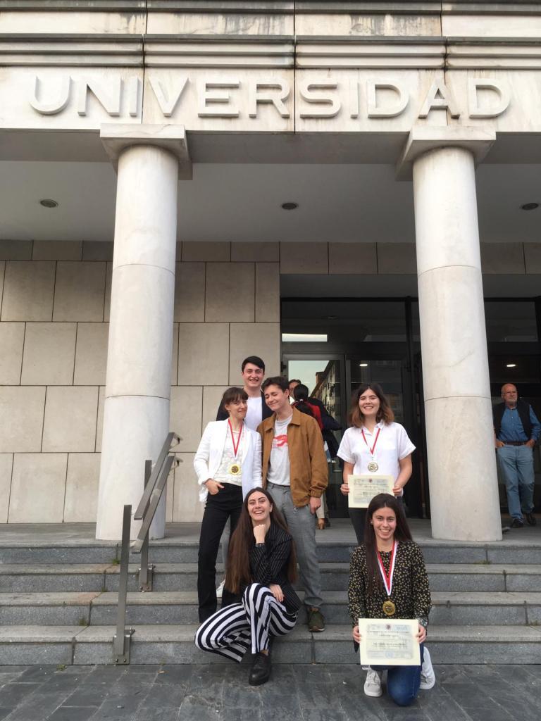 Alumnos premiados en IES Ataúlfo Argenta y Ocho de marzo