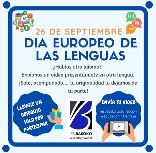 Día Europeo de las Lenguas: 26 de Septiembre