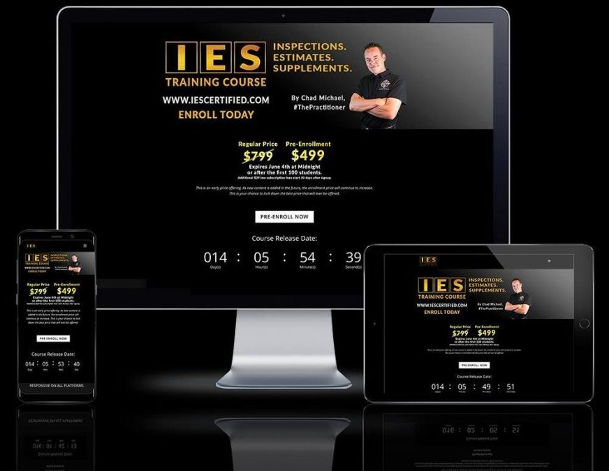 Announcing the IES Training Course: Inspections. Estimates. Supplements.