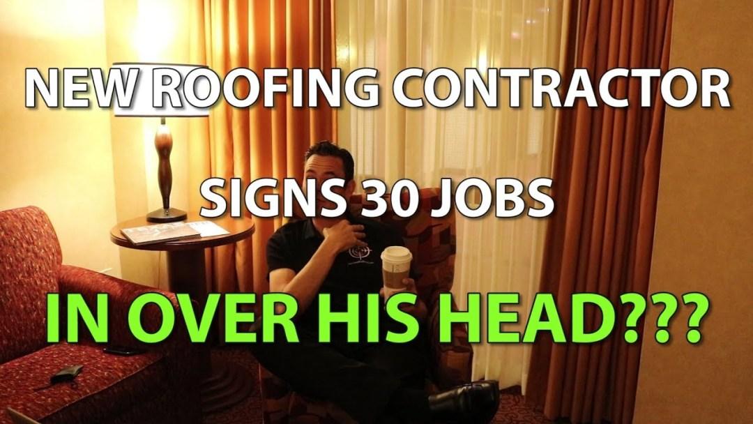 New Roofing Contractor's Sales Process is Broken | We Solve It