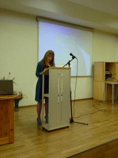 Rosa Martínez recuerda el paso por el C.P. Atalía (1)