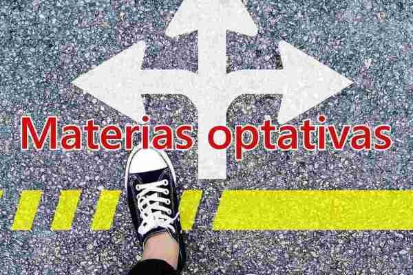 Materias optativas