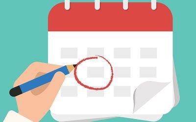 Calendario del plan de recuperaciones de asignaturas pendientes. Curso 2018-2019