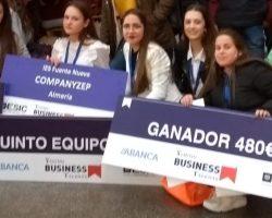 Dos equipos de bachillerato, entre los ganadores del concurso nacional 'Young Business Talents'