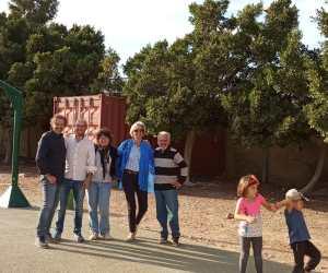 Cuatro profesores franceses del Lycée St Gabriel nos visitan