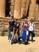grupo IES Huelin templo Concordia