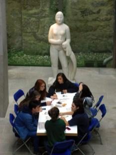 Visita ao Museo de Belas Artes