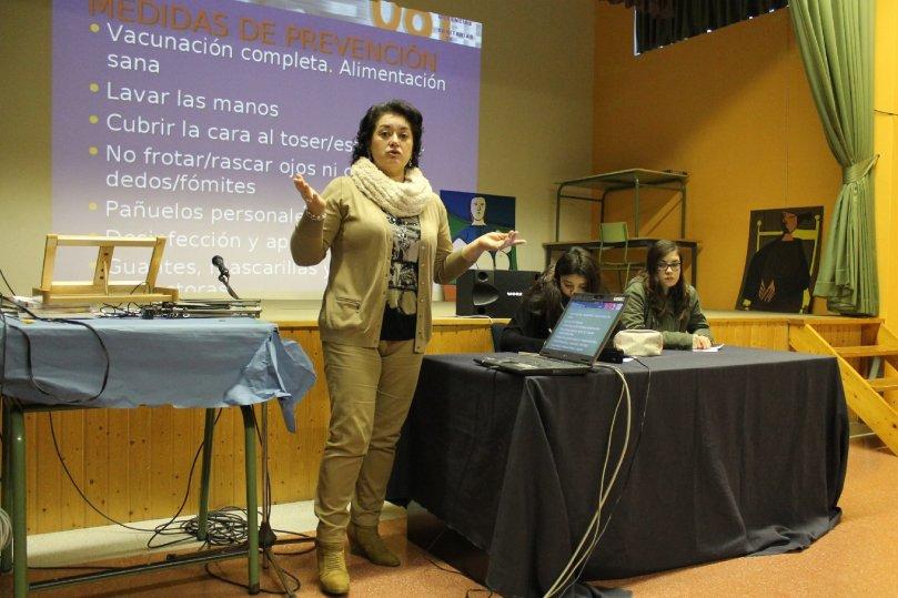 Charla Carmen Vázquez Lema