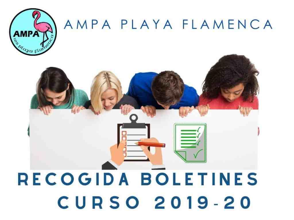 Boletines curso 2019-20