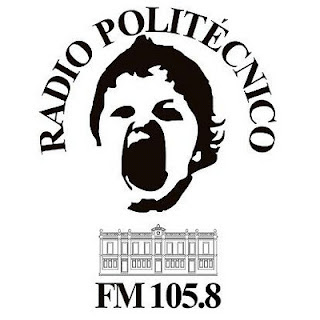 Logo radio politecnico FM 105.8